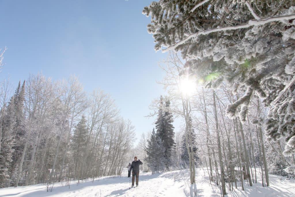 cross country skiing laramie wyoming