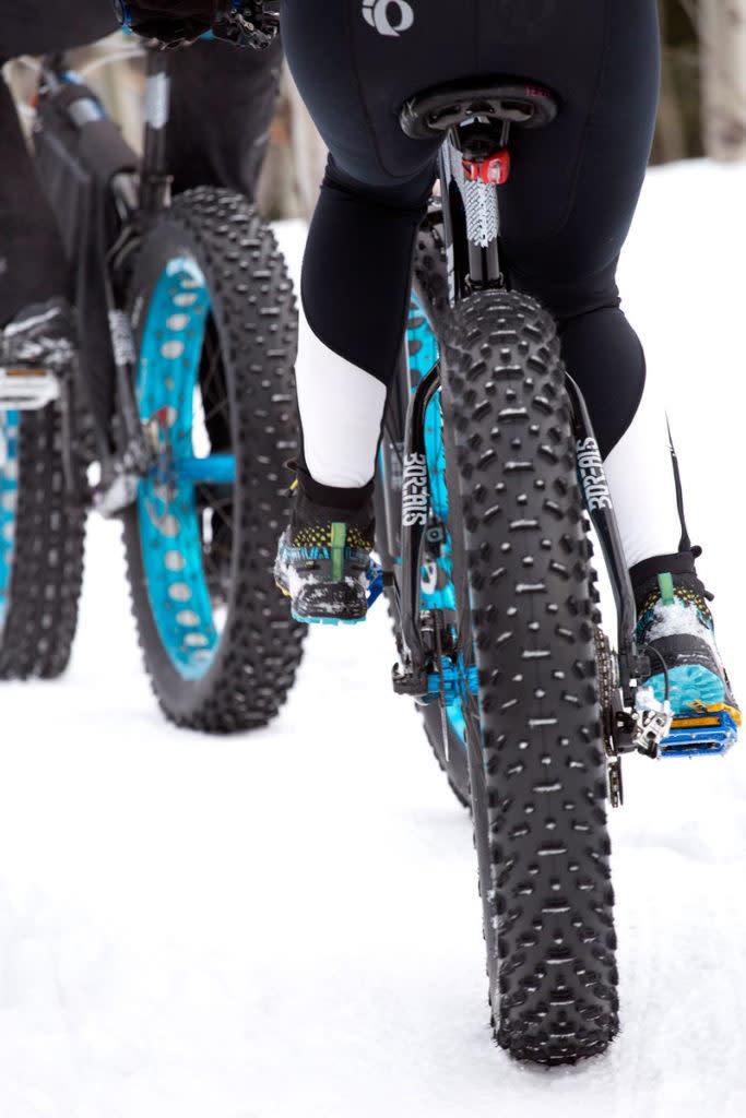 Fat tire biking for begginers around Laramie, Wyoming
