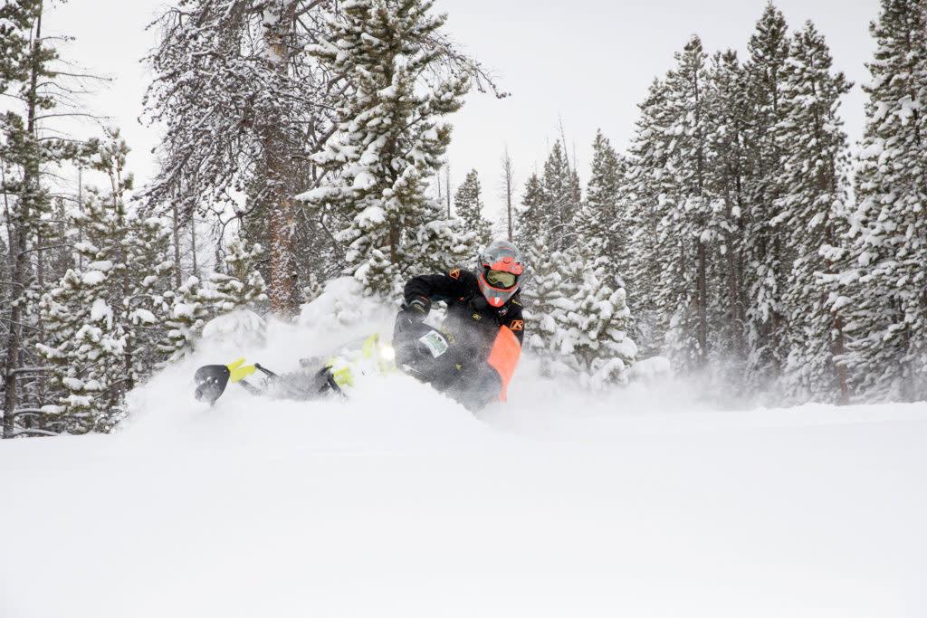 Snowmobiling guide to Wyoming destination Laramie