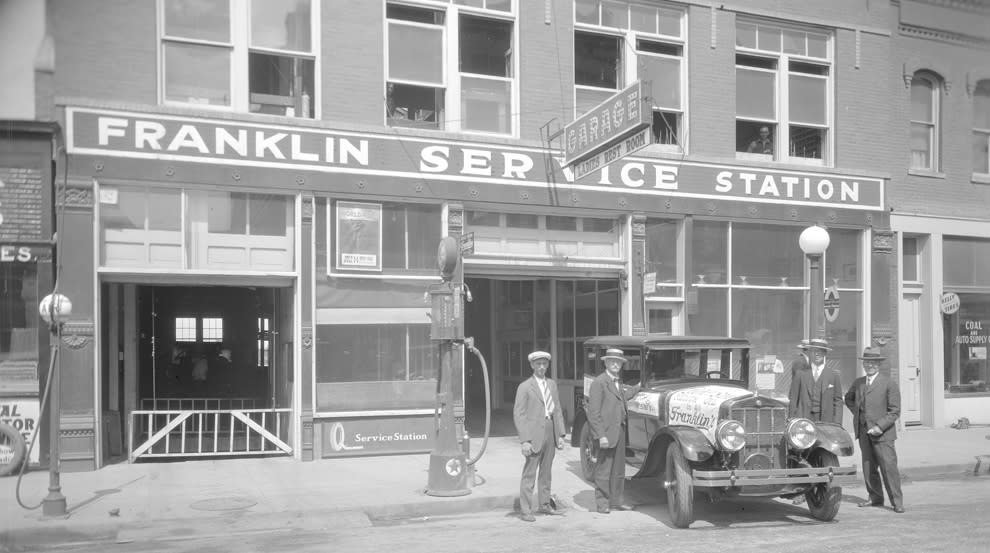 Elmer Lovejoy's Garage and Service Station
