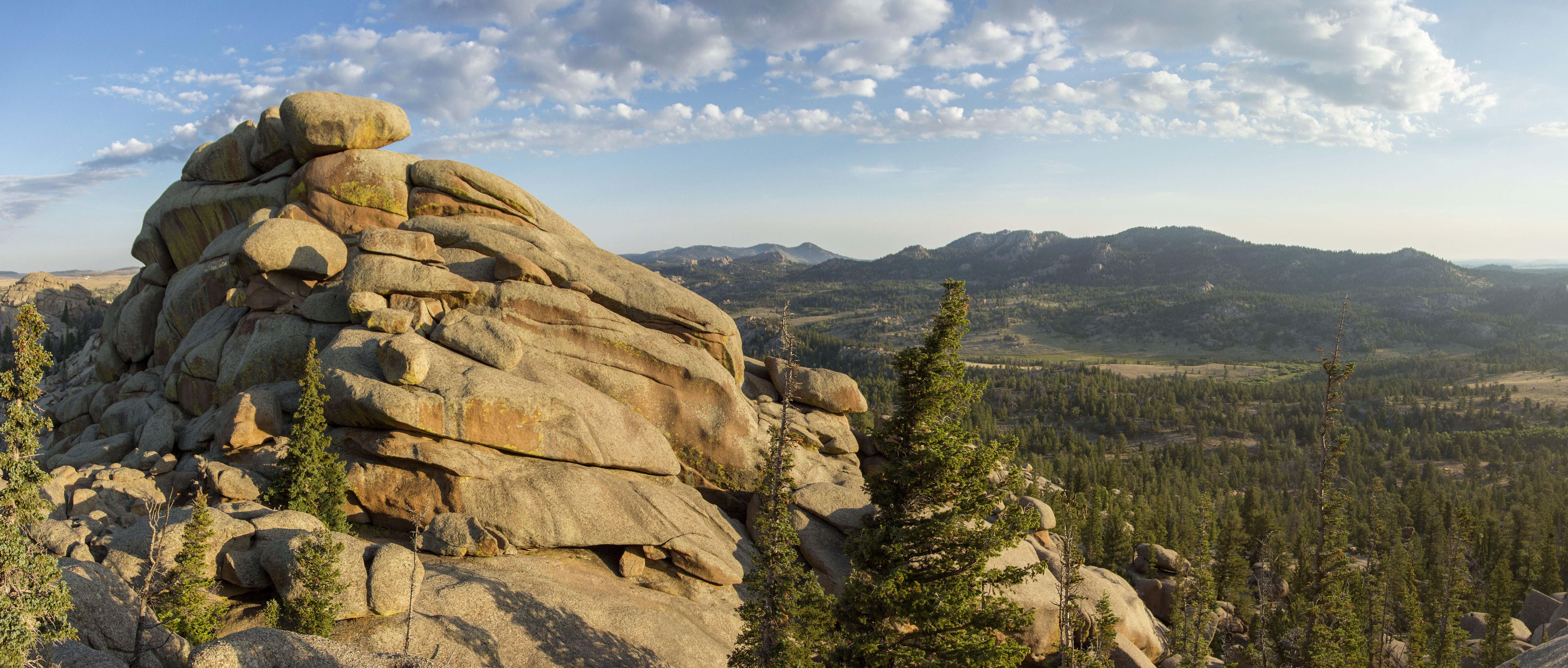 Medicine Bow Peak hiking trail is a locals favorite
