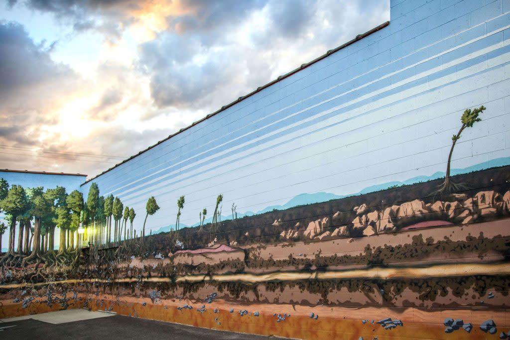 Growth Mural Toro Laramie