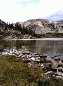 summer water lakes laramie