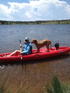 kayaking, summer water activities