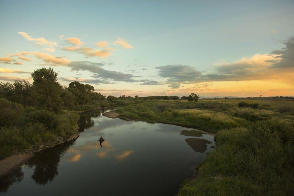 Best Wyoming sunsetLaramie Green Belt BHP Imaging Brian Harrington