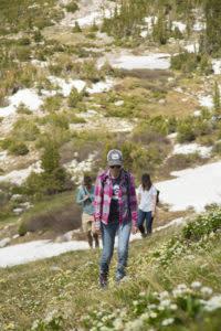 Hiking Snowy Range Medicine Bow National Forest Laramie Wyoming