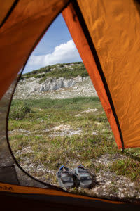 The North Fork Campground in Wyoming