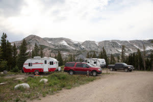 Sugarloaf Campground in Wyoming