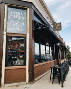 Coak Creek Coffee Downtown (photo credit Coal Creek Coffee)