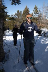 Cross country skiing nordic Laramie Wyoming winter activities