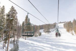 ski lift skiing snowboarding Laramie Wyoming winter activities