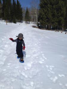 winter destination for families