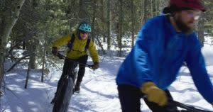 fat tire biking bicycle fattire Laramie Wyoming winter activities