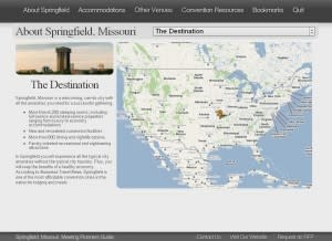 Meeting Planners Guide Screen Shot