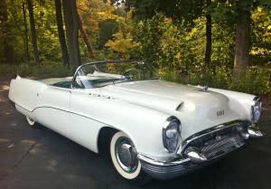 1953 Buick Wildcat I. Photo courtesy of Bortz Auto Collection Archives.
