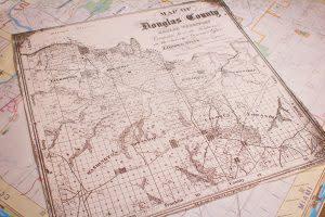 Douglas County Map