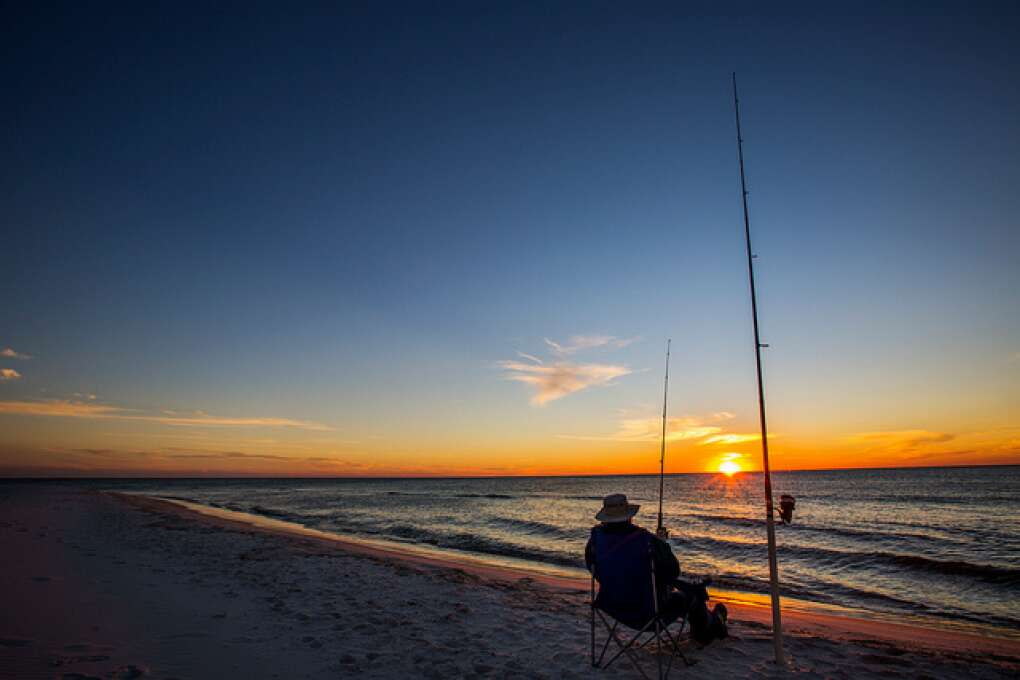 Go fishing at Cape San Blas