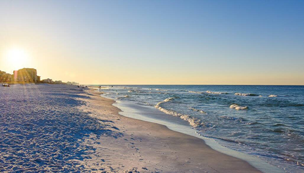 best secluded beaches in florida