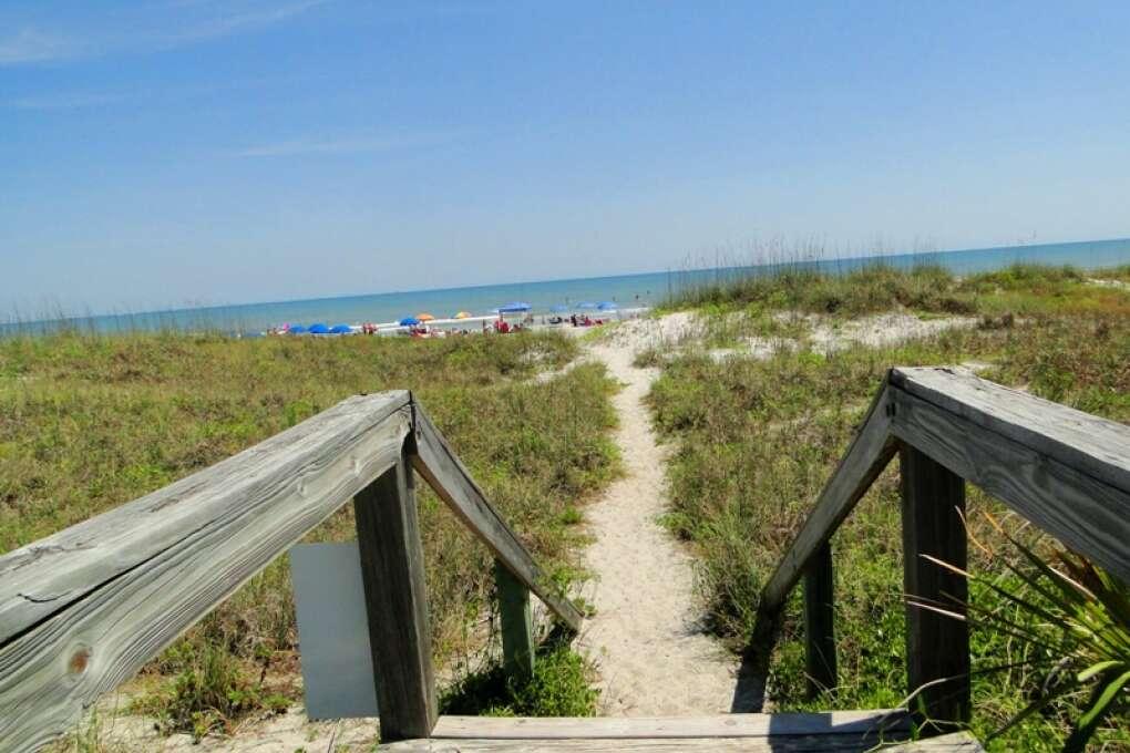 beaches in Cocoa Beach