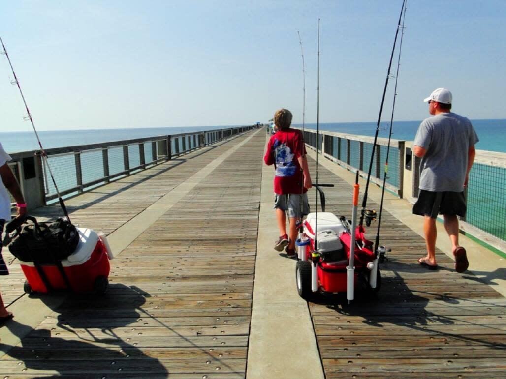 longest fishing pier in florida