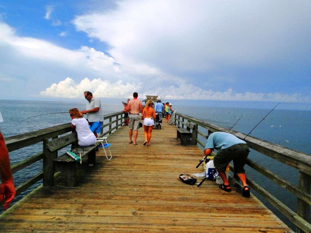 pier Naples beach Florida