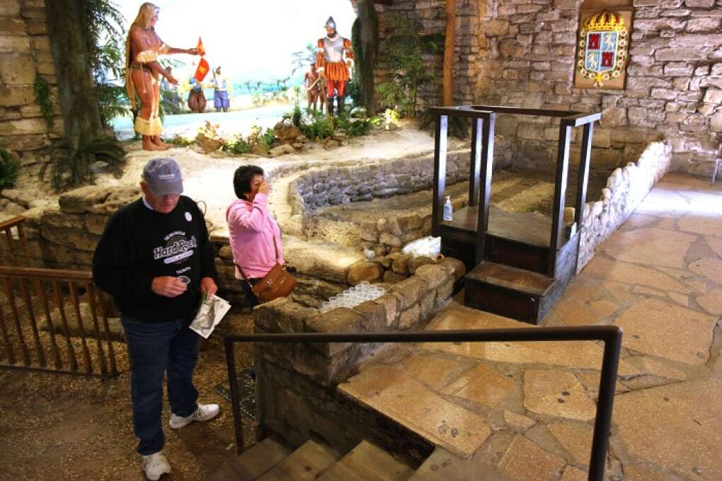Merely a visit to Ponce de Leon's Fountain of Youth Archaeological Park may make you feel young again