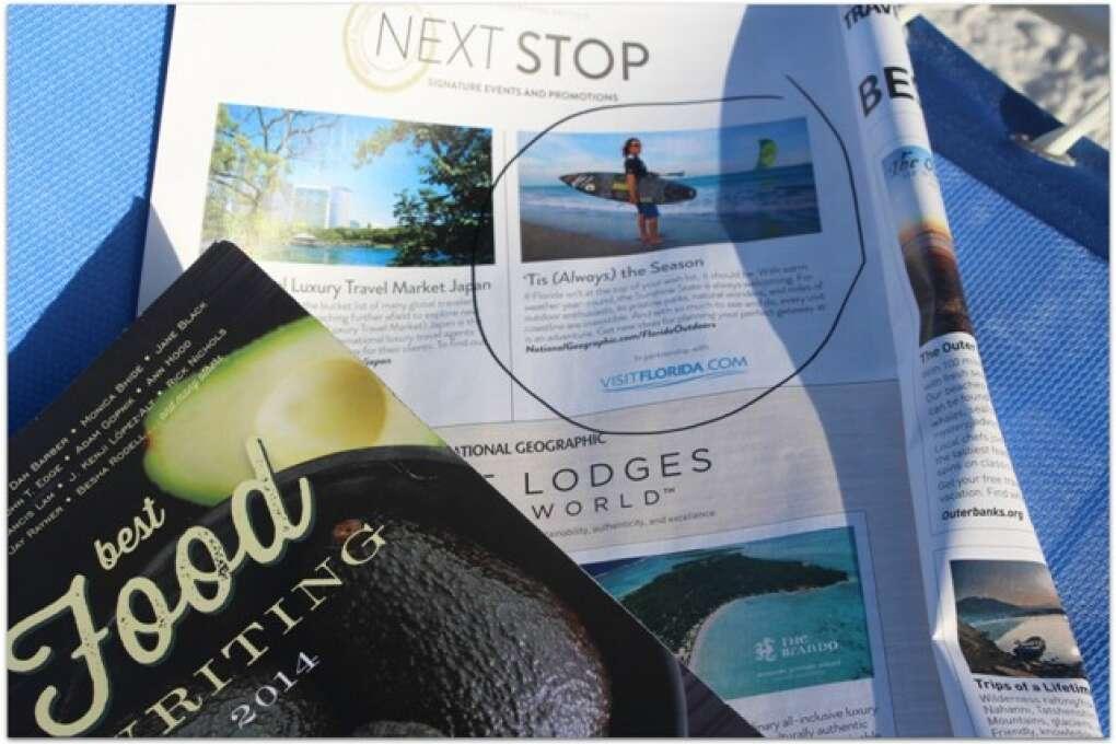 A tourism guide magazine
