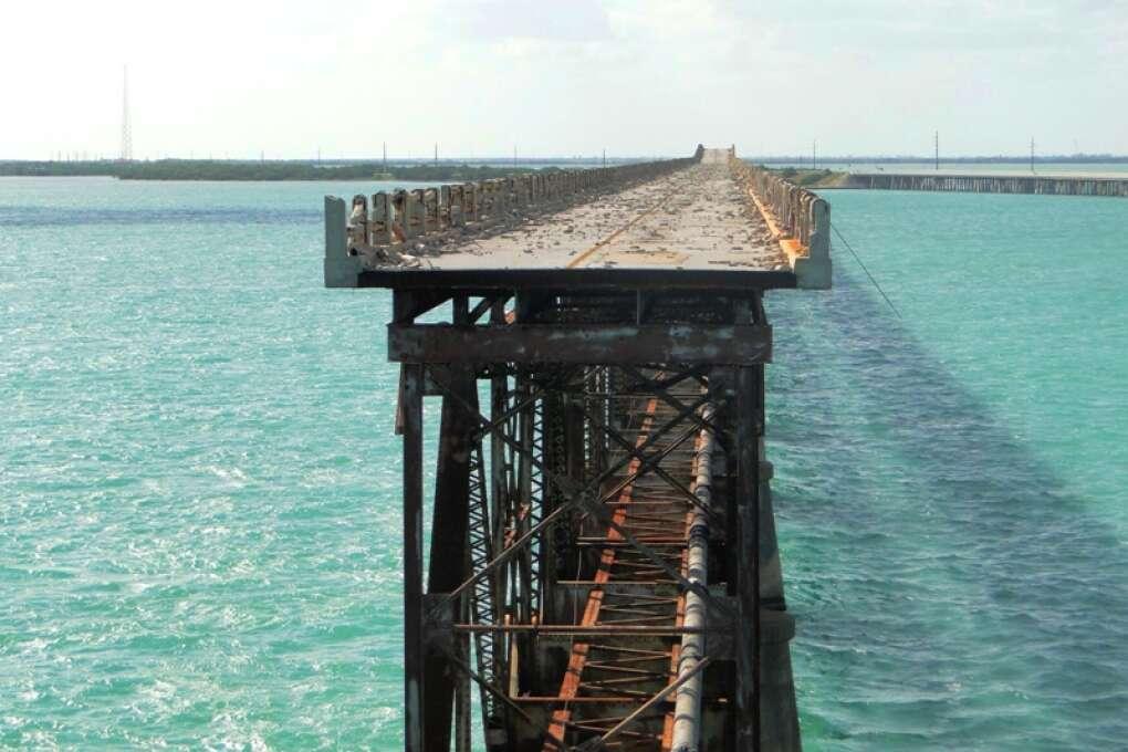 The Broken Bridge at Bahia Honda State Park