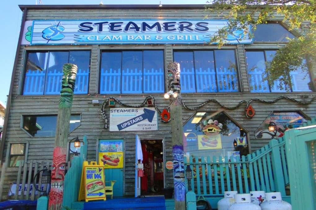Clam Bar in Cedar Key