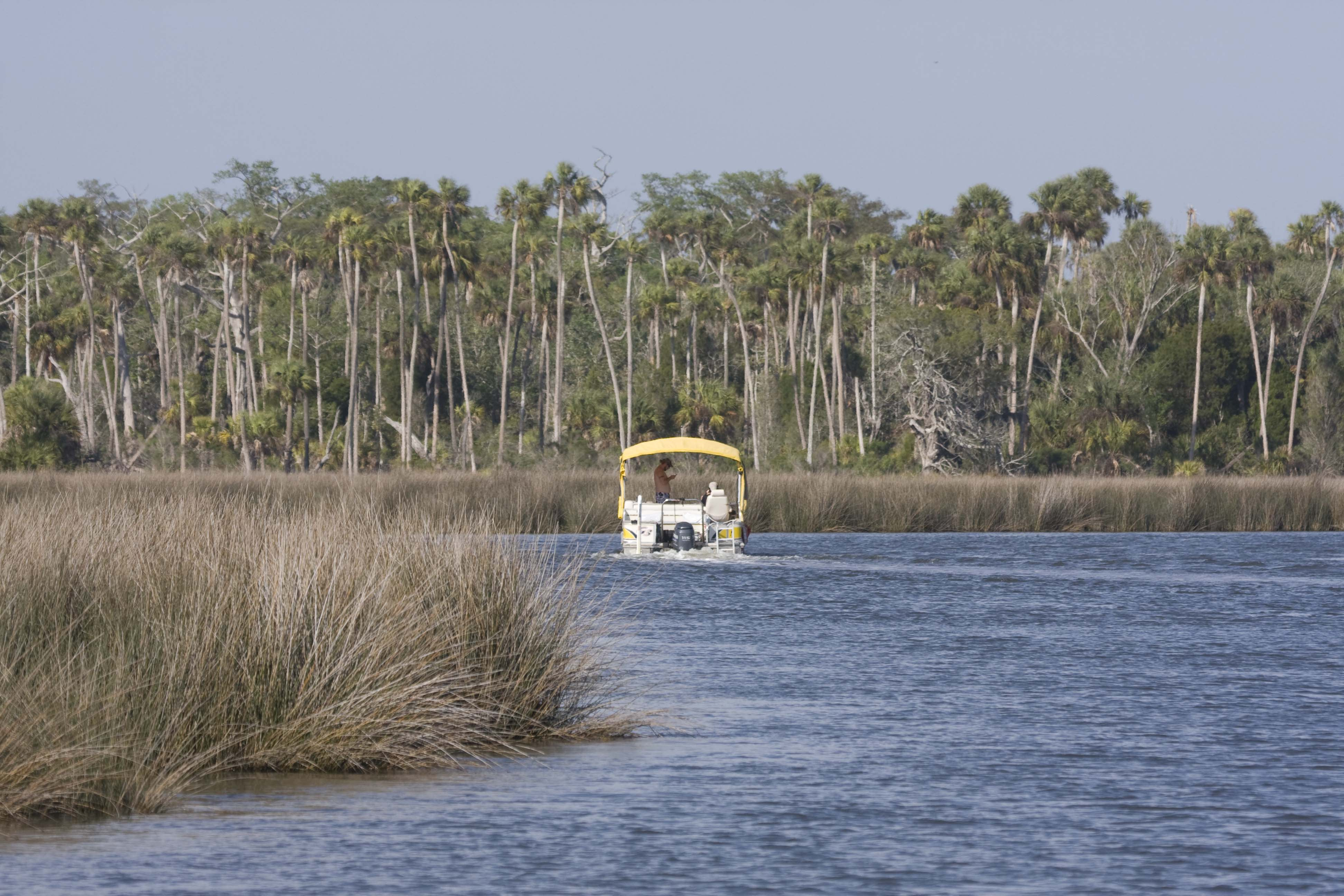 Boating on the gorgeous Withlacoochee River.