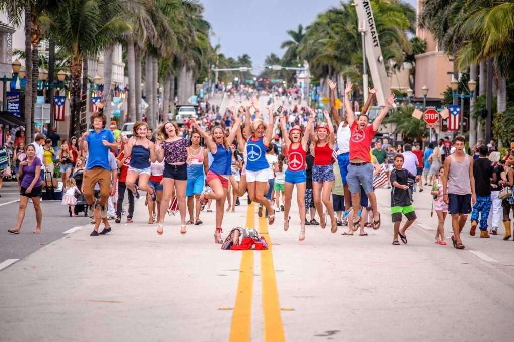 Happy People, happy Delray Beach!