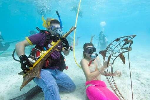 Underwater Music Festival band