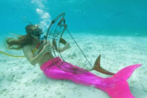 Underwater Music Festival mermaids