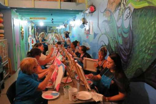 The Florida Keys History & Discovery Foundation's art class is now open
