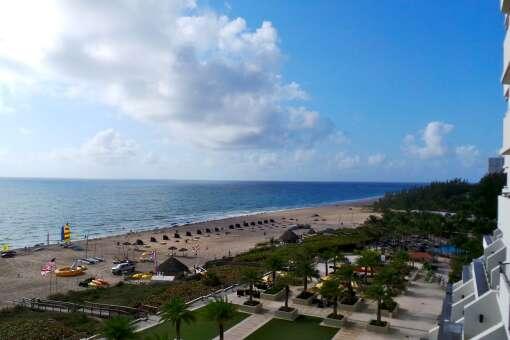 Harbor beach Marriott Resort Spa in Fort Lauderdale