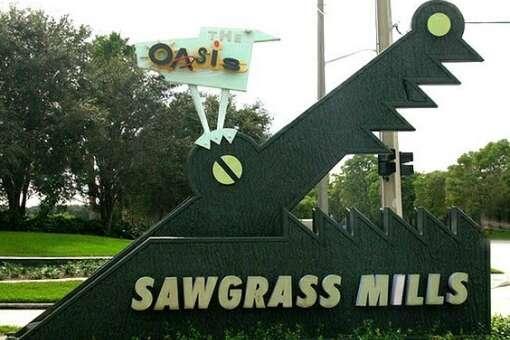 Sawgrass Mills near Fort Lauderdale