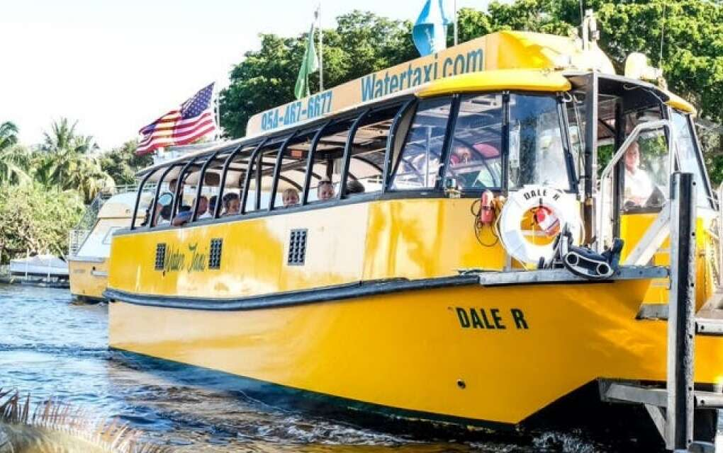 Explore Fort Lauderdale with an all-day hop-on/hop-off pass for the water taxi, which has 15 stops throughout the city close to beaches, museums and shops.