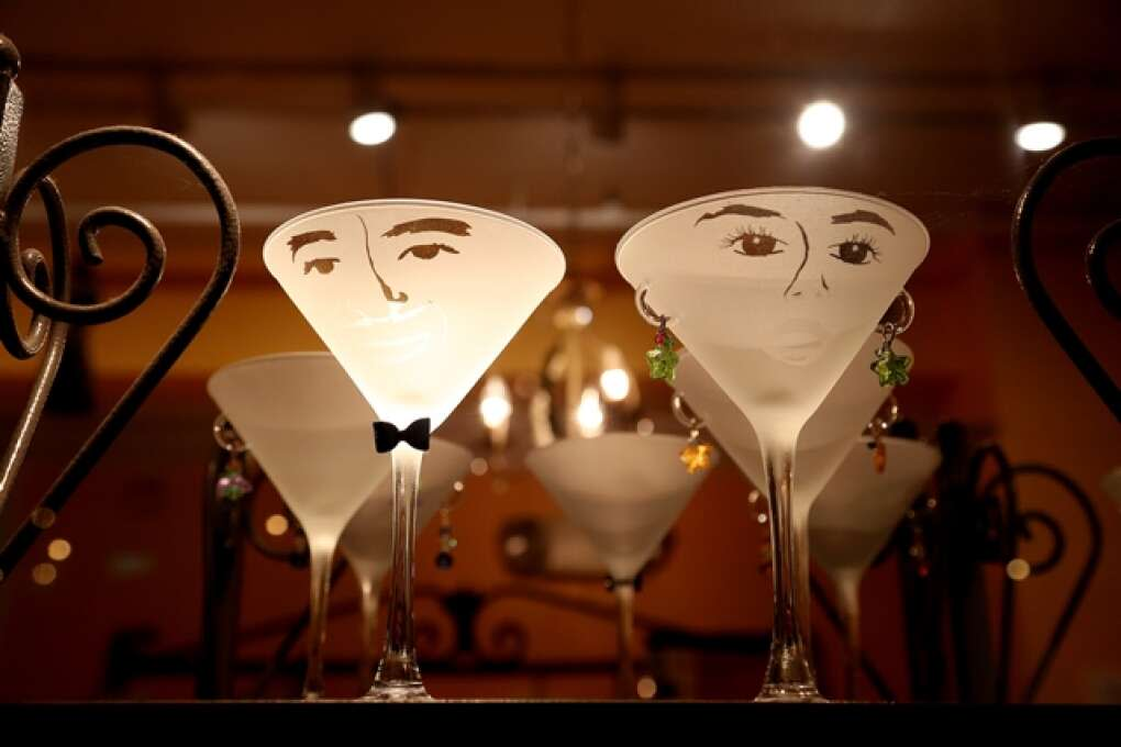 buy a pair martini glasses as a gift at Market Earth