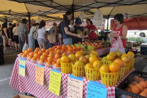 Buy local at the Riverside Arts Market