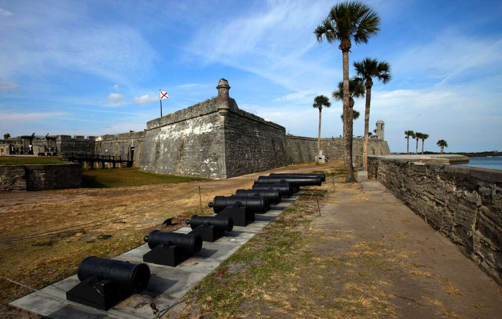 Castillo de San Marcos, 17th-century landmark, St. Augustine