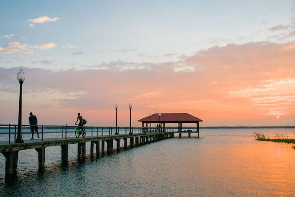 Lake Jackson pier in highlands county florida