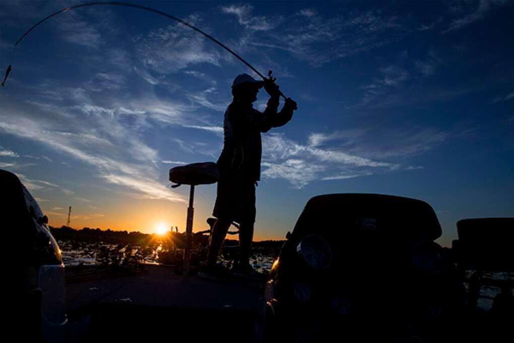 Bass Fishing on Lake Istokpoga