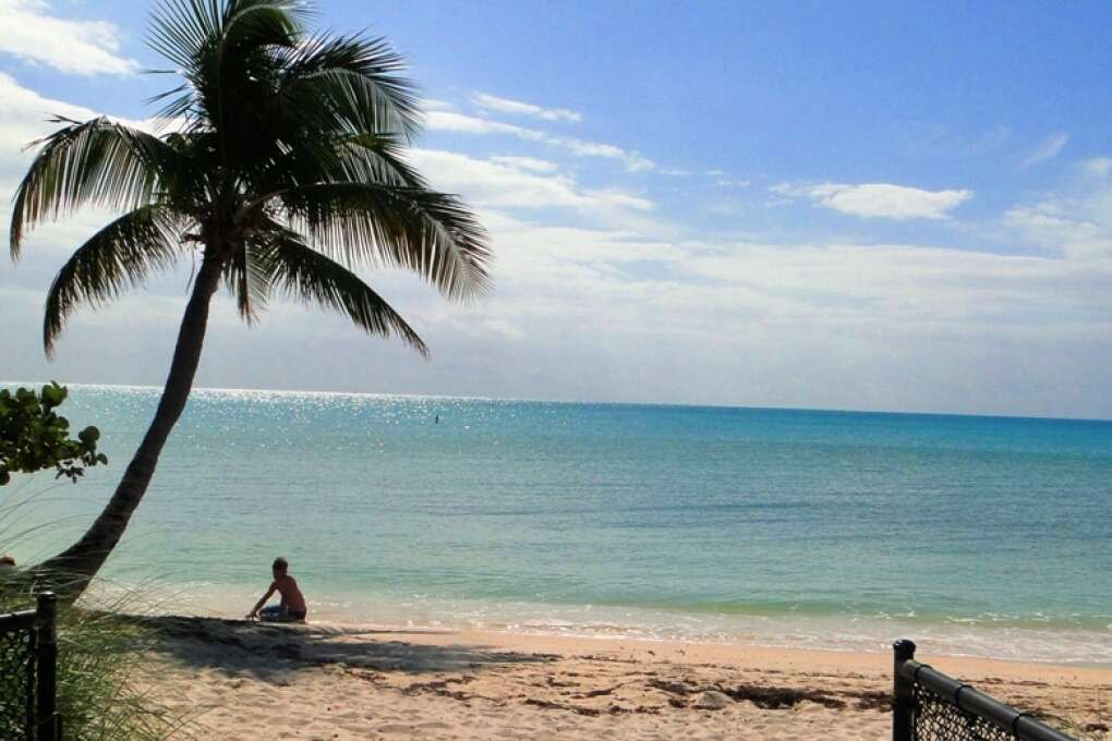 Visit Sombrero beach for one Marathon Florida points of interest