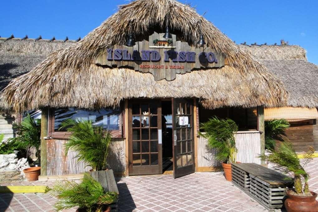 Eat some gumbo seafood at the Island Fish Company in Marathon Florida