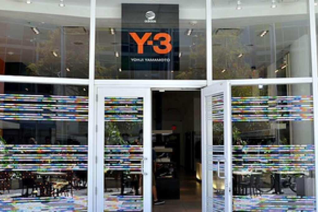 Y-3 store in Miami Beach