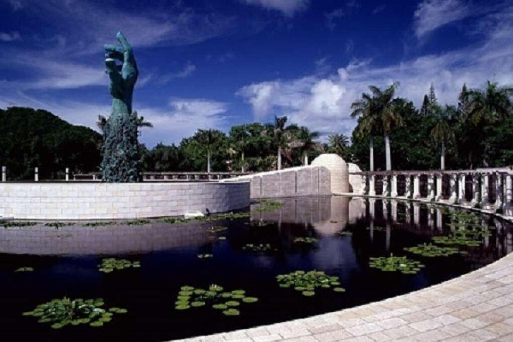 The Holocaust Memorial in Miami Beach, Florida