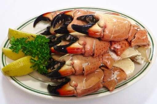 A platter of Joe's Stone Crabs