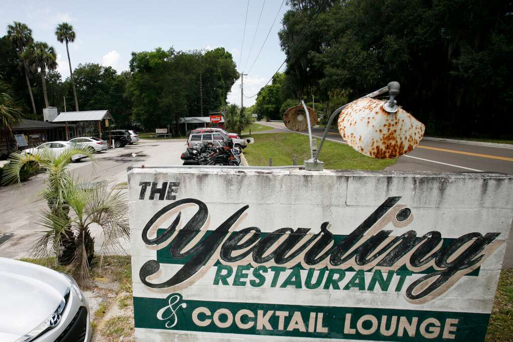 Yearling Restaurant by old Florida heritage highway