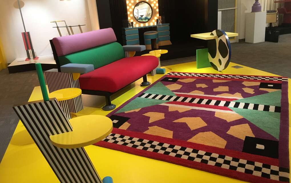 Among collections at the Modernism Museum is furniture from the Memphis Collective, much of it from the estate of rock star David Bowie.