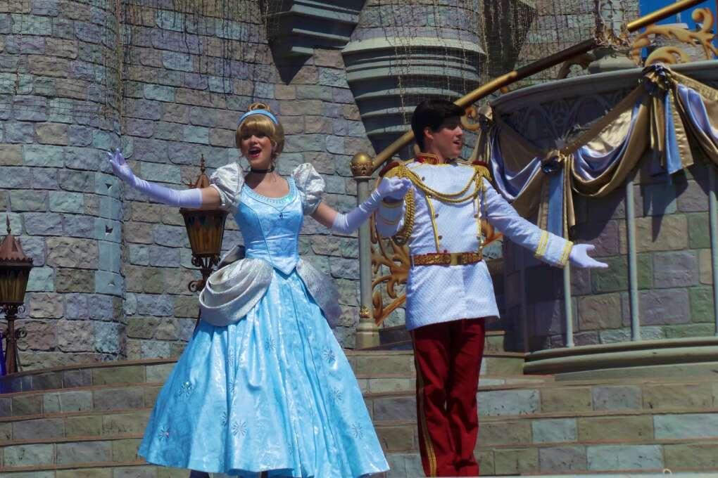 Princess and Prince in Magic Kingdom